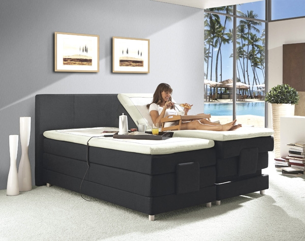 schlafen wie im luxushotel mit boxspringbetten firmenpresse. Black Bedroom Furniture Sets. Home Design Ideas